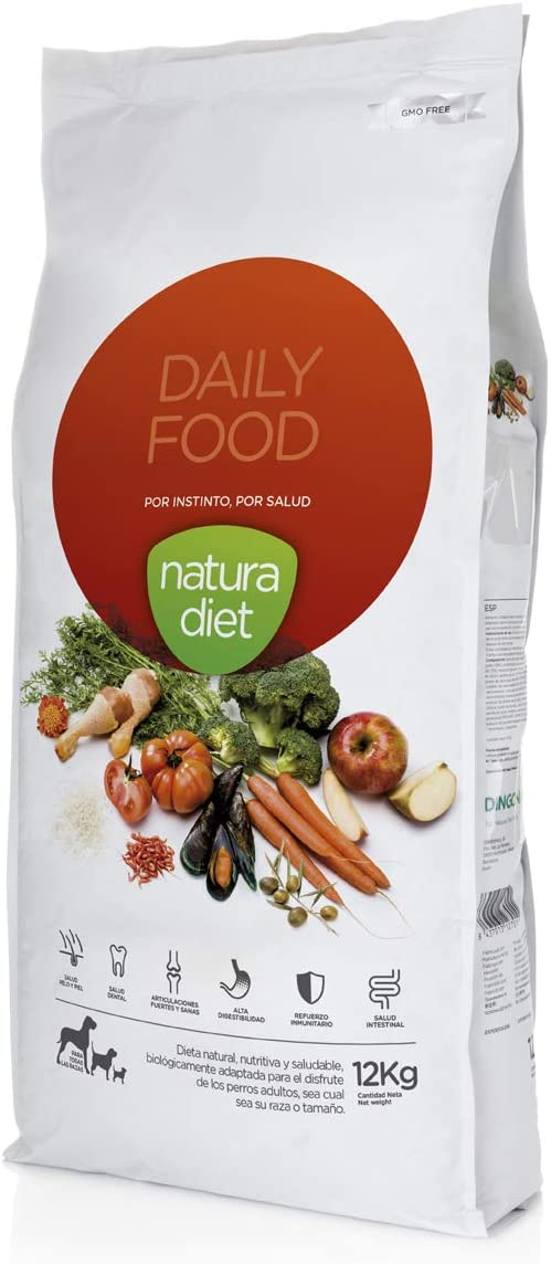 Natura diet Daily food 12 kg Alimento Natural seco.