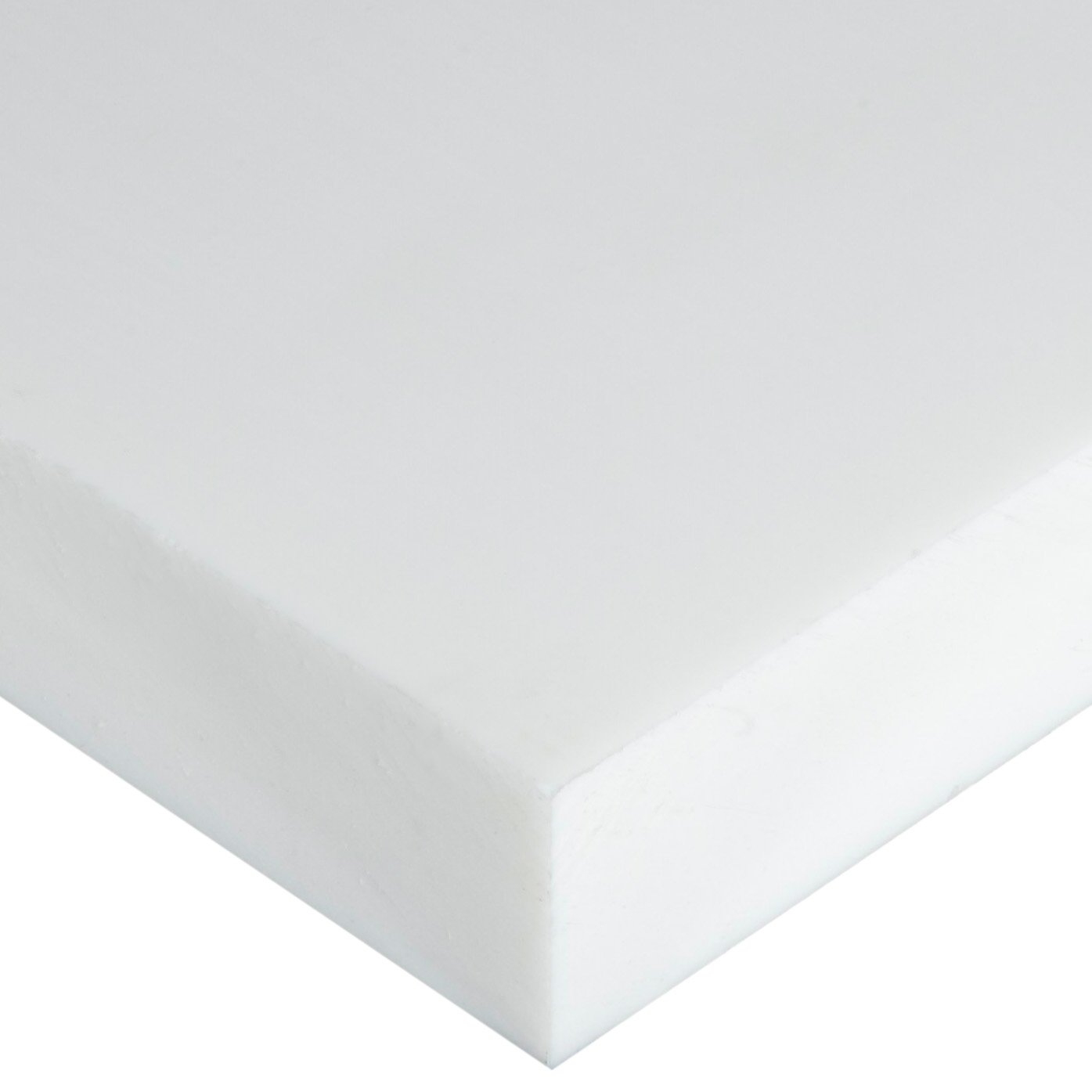 Opaque Off-White ASTM D5927 1//4 Thickness Polyethylene Terephthalate 24 Length 1//4 Thickness 12 Width 24 Length Small Parts 12 Width Standard Tolerance Sheet PET