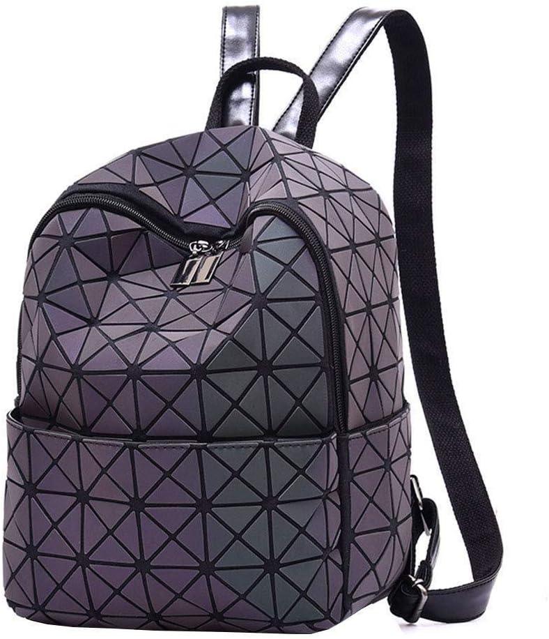 通気性 ファッションLinggeバックパックLuminous Editionカジュアルトレンドバックパックユース鮮やかなバックパック、繊細な裏地