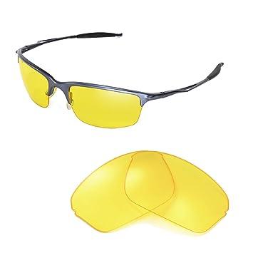 Walleva Ersatzgläser für Oakley Square Wire 2.0 Sonnenbrille - Mehrfache Optionen (Lila polarisiert) u5fiiQXP