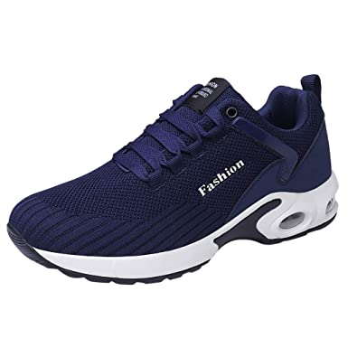 refulgence Men Fashion Flat Platform Non-Slip Lace-up Breathable Running  Fitness Sports Shoes fb153ced078