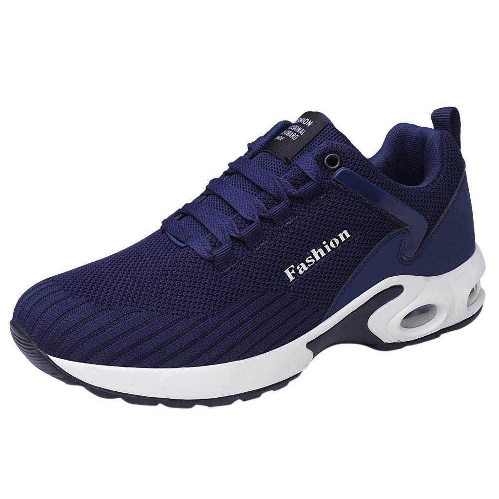 Men Flat Platform Running Spots Shoes - Non-Slip Breathable Light Leisure Sneakers,2019 New