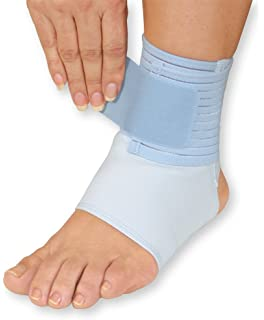91bfe94df9 Amazon.com: WellWear Copper Ankle Brace, One Size: Health & Personal ...