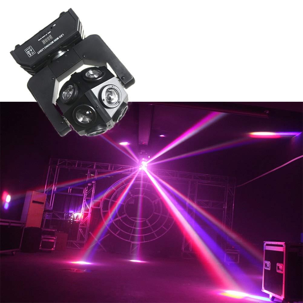 Weihnachtsfeier aktivieren -614 B/ühnenlichter DJ Party Lichter Disco Lichter rotierende Mini Magic Crystal Ball Strobe Lichter F/ür Kindergeburtstag Familientreffen