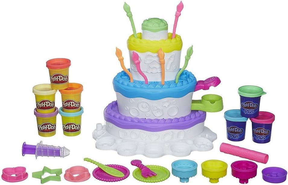 Incredible Play Doh Sweet Shoppe Cake Mountain Playset Dough Amazon Canada Personalised Birthday Cards Veneteletsinfo