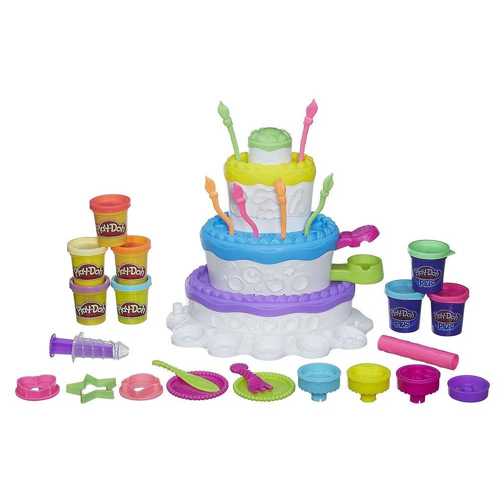 Play-Doh 2-in-1 Sweet Shoppe Cake Mountain Playset 43292-31574