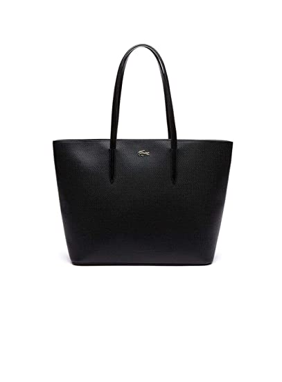 405024e5c23c1f Lacoste Chantaco Zip Shopping Bag Black: Amazon.it: Scarpe e borse