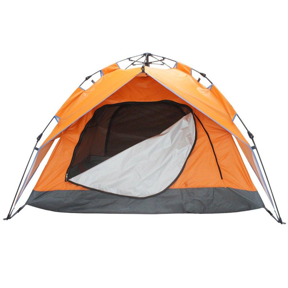 3-4人キャンプテント4シーズンバックパッキングテントアウトドアスポーツのための自動インスタントポップアップテント   B07CBR7ZG9