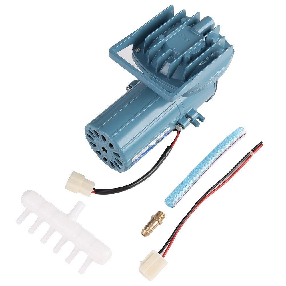 Hatime Air Pump Aerator for Fish Pond Aquaculture Aquarium Accessory Tool Oxygen Supplies DC 12V 35W