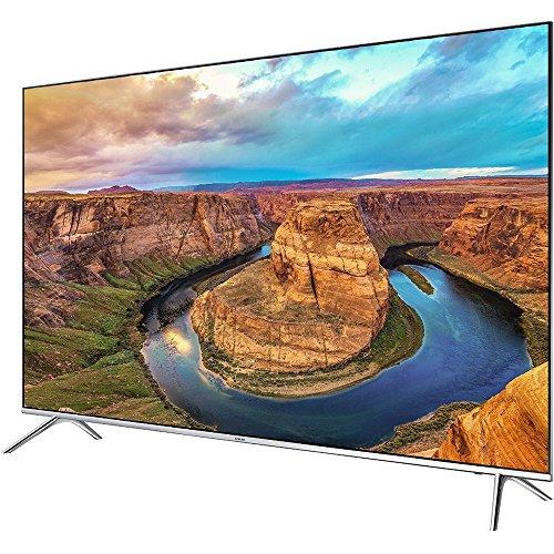 Samsung 65-Inch 4K SUHD Smart HDR 1000 LED TV - KS8000 8-Series (UN65KS8000FXZA) with Samsung 3D Wi-Fi 4K Ultra HD Blu-ray Disc Player