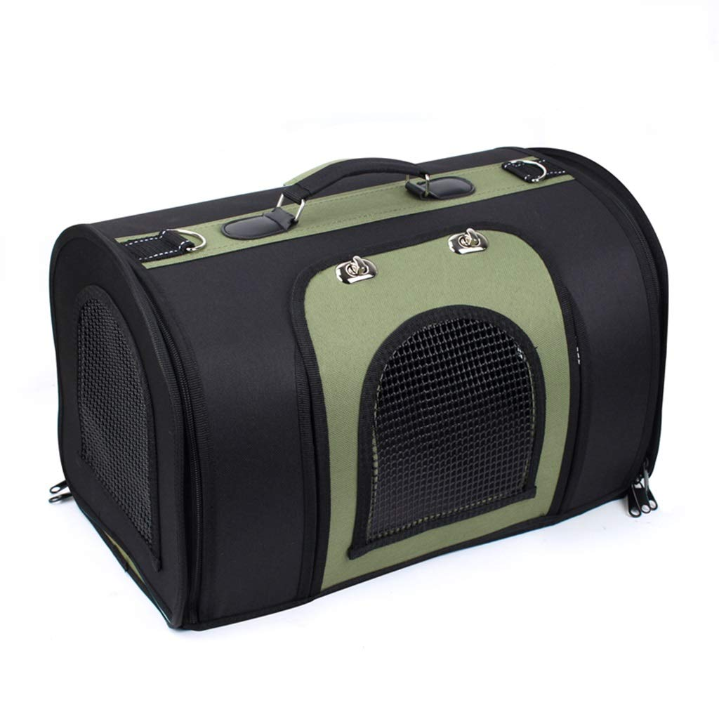 3 Small  3 Small Pet Travel Bag Pet Carrier Portable Foldable Pet Travel Bag Large Space Lightweight Shoulder Bag with Breathable Mesh for Dog and Cat (color    3, Size   S)
