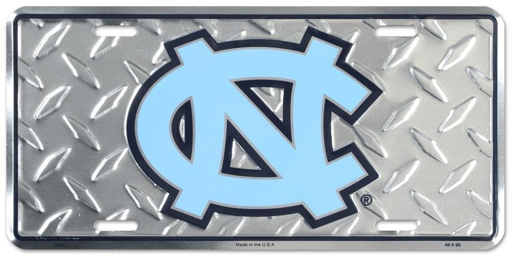 North Carolina Tar Heels Diamond License Plate Tin Sign 6 x 12in L562.B8S