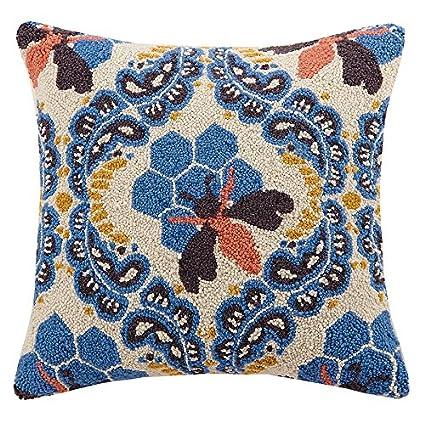 Amazon.com: Makers Collective miel casa gancho almohada ...