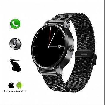 Reloj Inteligente Bluetooth Deportivo de Pulsera con Alarma Sedentaria/Monitor de Calorías/Análisis de