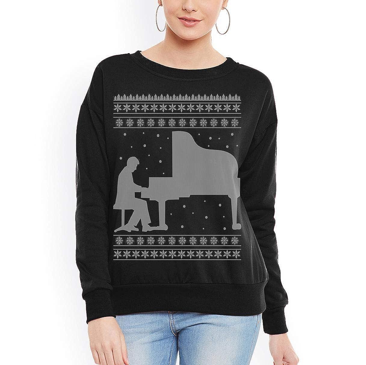 Piano Player Ugly Sweater Christmas Unisex Sweatshirt tee