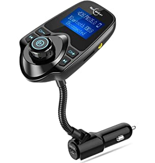 Bluetooth FM Transmitter 1.44 Inch Display Radio Adapter Car Kit With 5V 2.1A USB Car