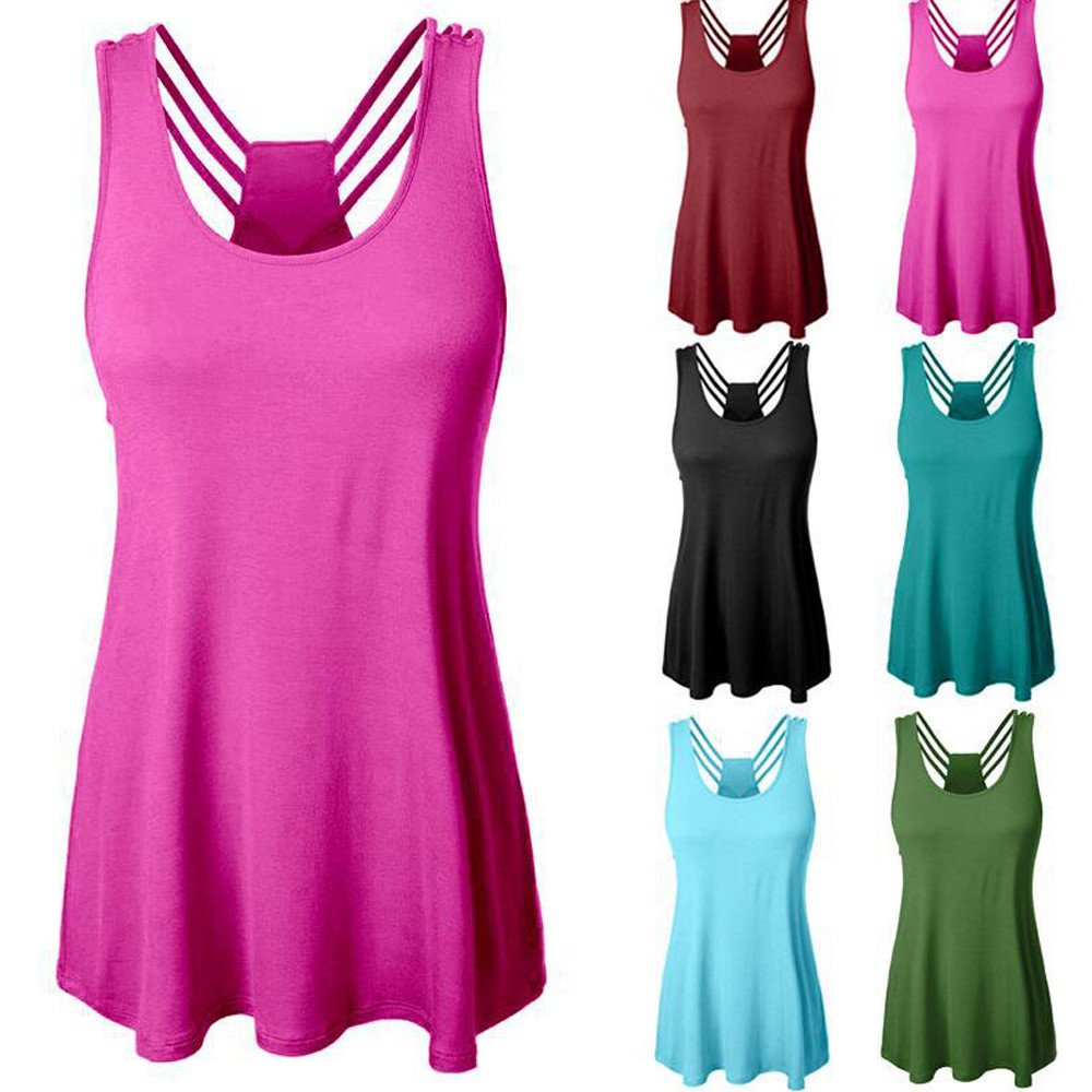 74166cfb42792e Amazon.com  UONQD Woman Women Sleeveless Blouse Comfy V Neck Loose Casual  Button Down Shirts  Clothing