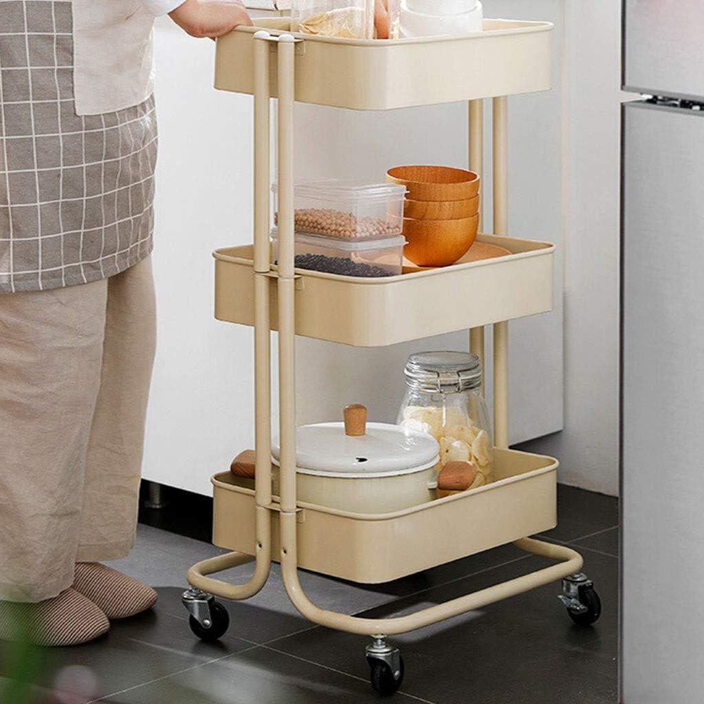 Libreria Estante de almacenamiento de cocina de estantería HX Estantes de almacenamiento de viento para el hogar IKEA Racks de almacenamiento móvil de tres niveles Múltiples capas Armario de libreria: Amazon.es: Hogar