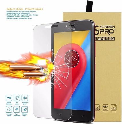 Ougger Protector Pantalla para Motorola Moto C Plus Protecto ...