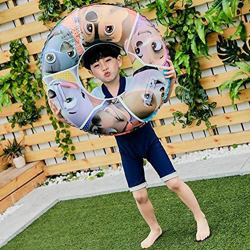 Anneau De Bain épais Pour Enfants Jouets Gonflables,jeux D'eau Siège Gonflable Avec Motif De Chien - 60 Cm, 70 Cm