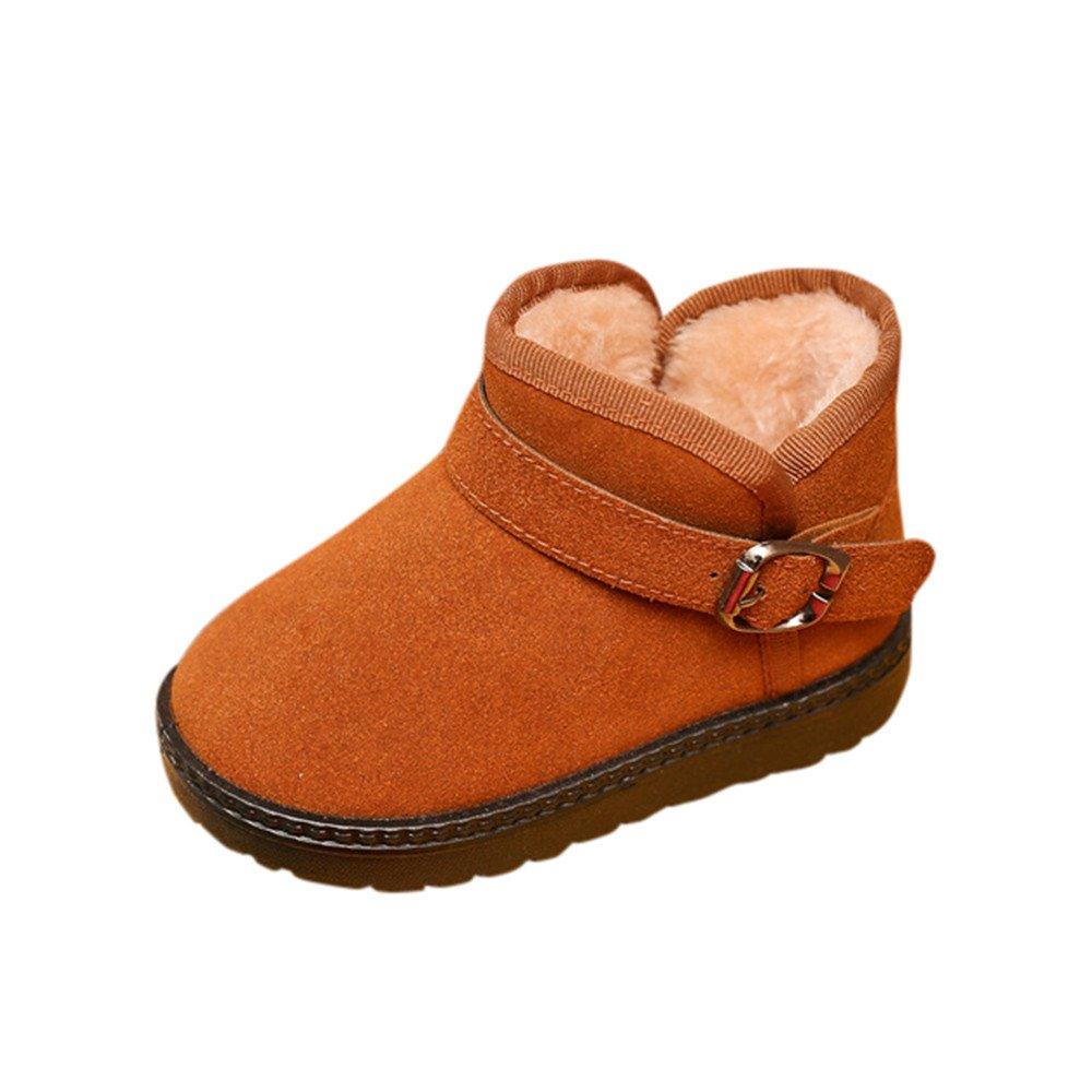 ❤️ Botas niñas Invierno, Niños Otoño Invierno Moda cálida Niños Martin Chicas Niños Botas de Nieve Casuales Zapatos niña Fiesta Boda Zapatos niña Fiesta Absolute