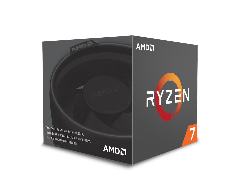 AMD Ryzen 7 2700 Processor with Wraith Spire LED Cooler - YD2700BBAFBOX