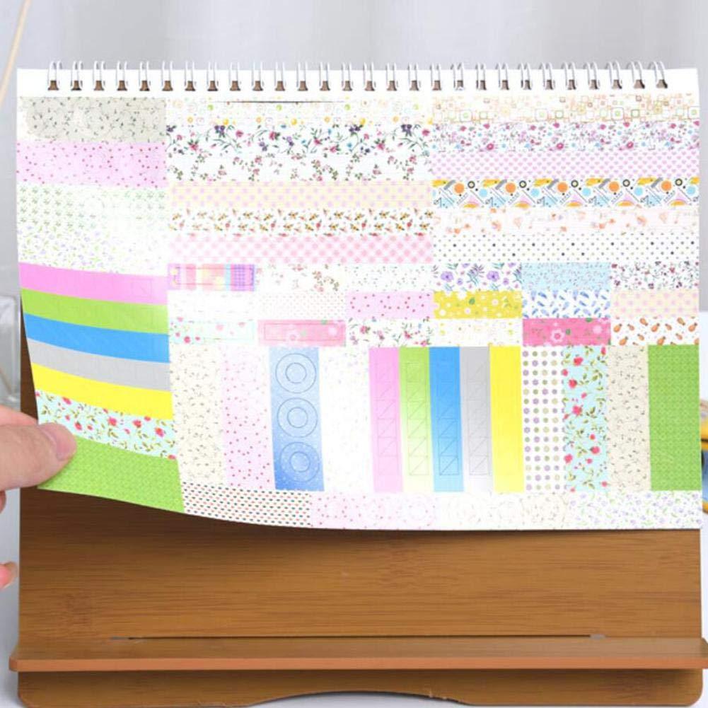 einfacher Tischkalender Stand Up Flip Calendar Tischkalender f/ür das Home Office RecoverLOVE Wasserdichter stehender Tischkalender 2019-2020 Monatsschreibtisch