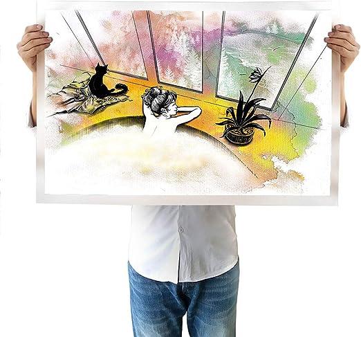 Satvshop Peinture Murale Pour Piano Gris Argile Avec