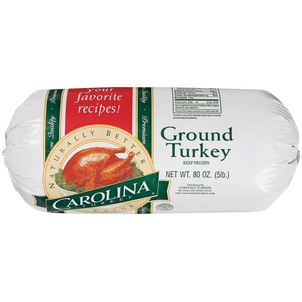 Carolina Turkey Ground, 5 Pound - 4 per case.