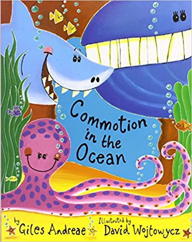 Ocean book for speech therapy