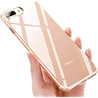 iKALULA iPhone 8 Plus Handyhülle Silikon, Crystal iPhone 7 Plus Schutzhülle, Ultra Dünn Kratzfest Stoßfest TPU Hülle Durchsichtige Klar Case Cover für iPhone 7 Plus/iPhone 8 Plus- Transparent, 1 Pack
