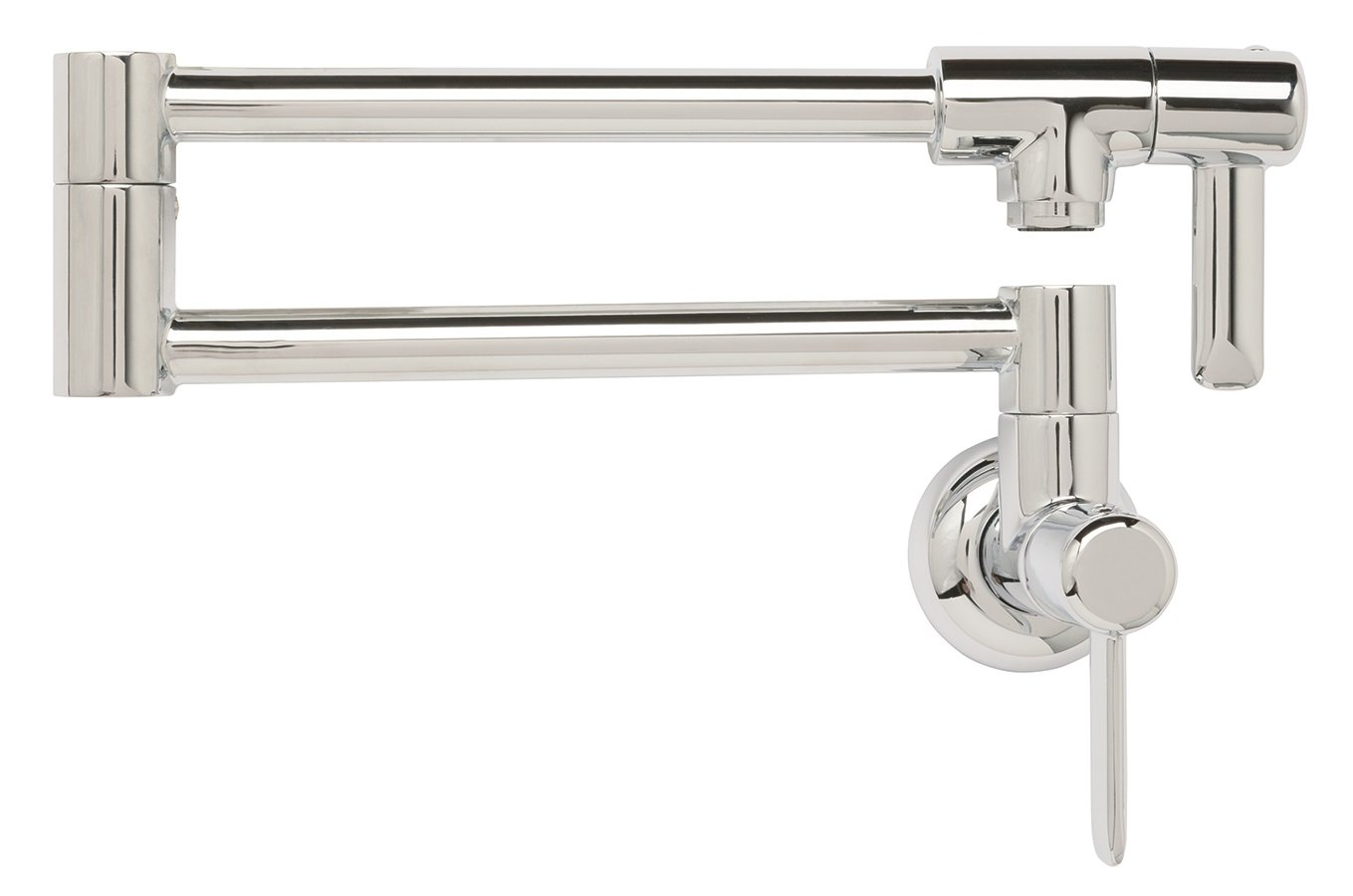Franke PF3200 Logik Two Handle Wall Mounted Pot Filler, Chrome