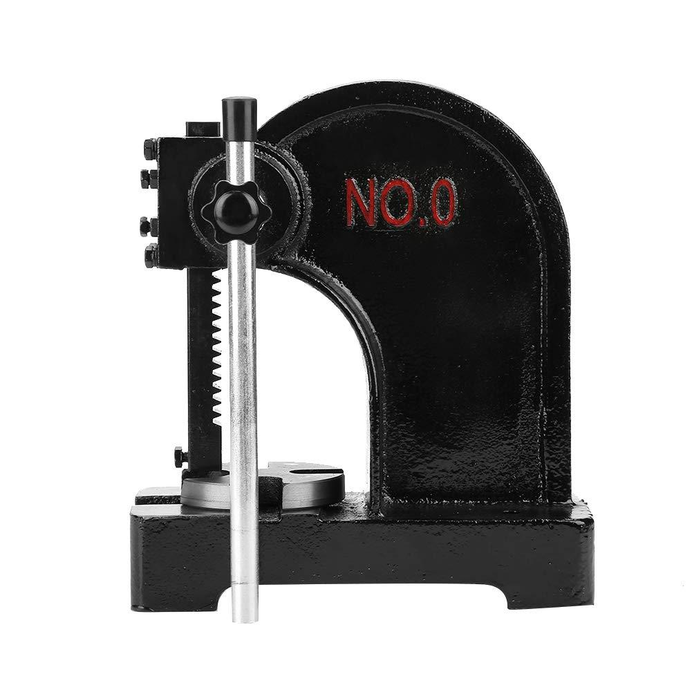 Arbor Press, 0.5T 4.1''/104mm Manual Desktop Hand Punch Press Machine Metal Arbor Press Tool for Press Bearing Brass Riveting by Zerone (Image #3)