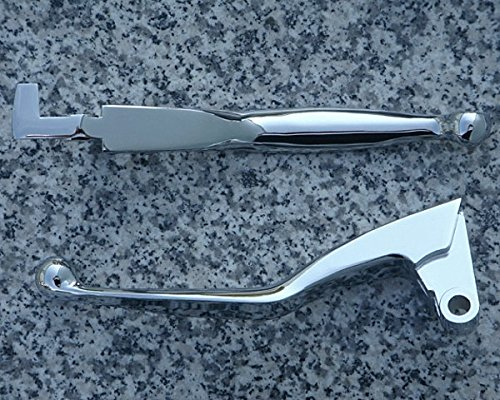 (i5 Chrome Front Brake & Clutch Levers for Yamaha Road Star 1600 1700 & Warrior)