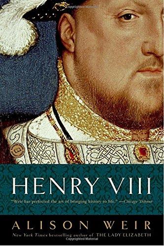 Best king henry viii books list