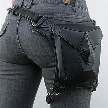 Sometubien Mujeres Hombres Steampunk Cintura Bolsas de ...