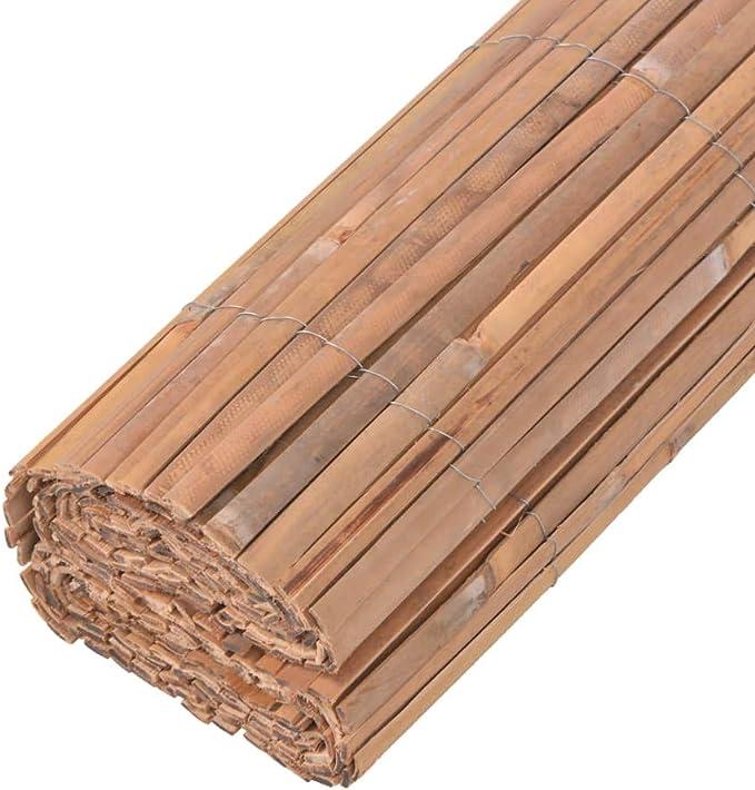 vidaXL Valla Cañizo para Jardín de Bambú 200x400 cm Cerca Pantalla para Patio: Amazon.es: Hogar