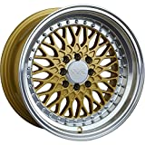 XXR 536 18 Gold Wheel / Rim 5x100 & 5x4.5 with a 32mm Offset and a 73.1 Hub Bore. Partnumber 53689107