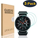 HEYUS [3 Pack] for Samsung Galaxy Watch 42mm Screen Protector,9H Hardness Scratch Resistant Anti-bubbles Anti…