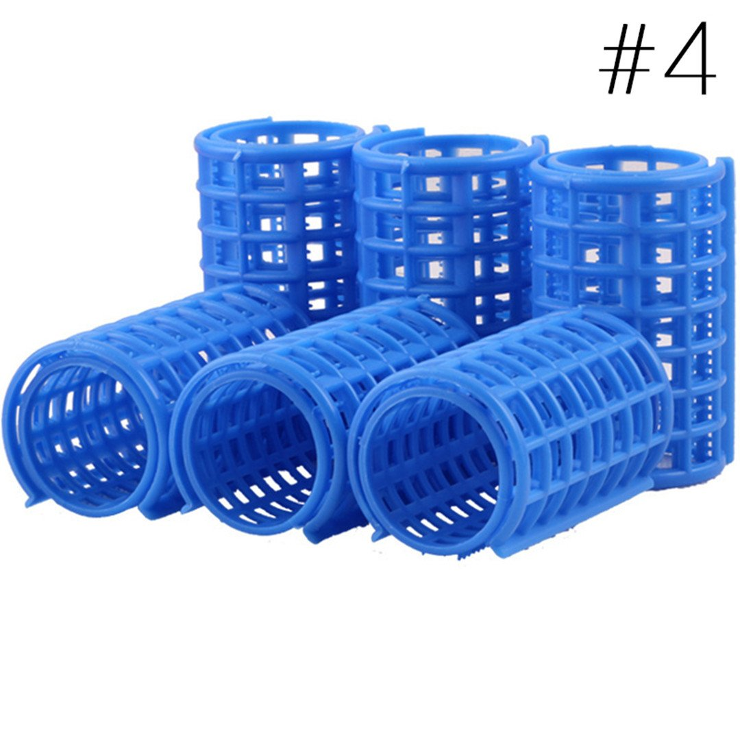 Hair Curlers DIY Hair Salon Curlers Rollers Tool Soft Large ing Tools Plastic 6/8/10/12Pcs 6pcs by HAHUHERT (Image #7)