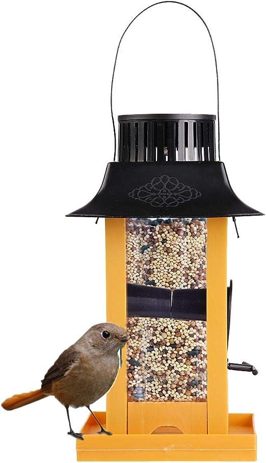 VietFA Comedero para pájaros de la Marca, lámpara LED Colgante para pájaros, para Exteriores, pájaros, Loros, Comida, jardín, casa, contenedor de decoración – por GTIN – 1 Unidad: Amazon.es: Jardín