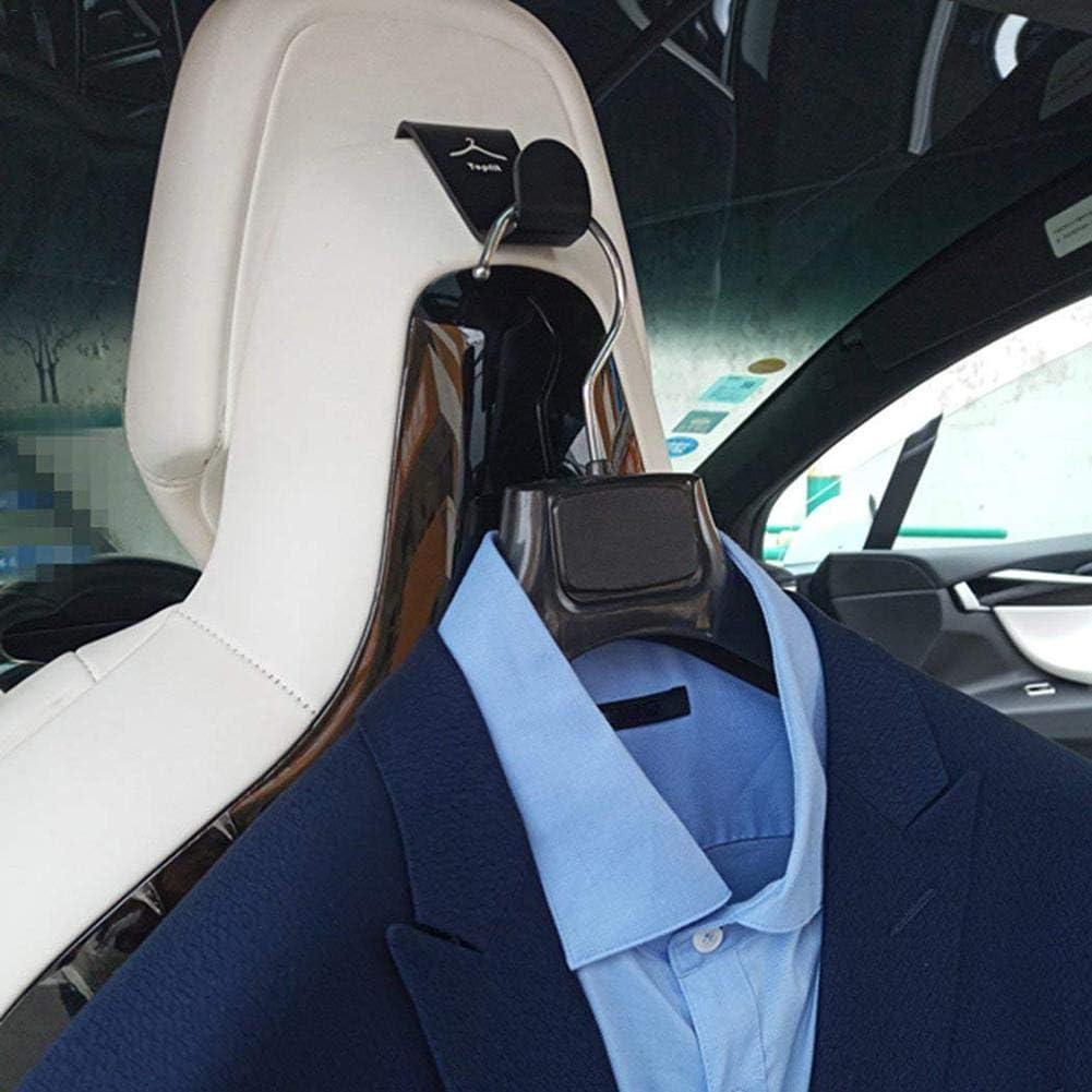 1 Paar Autositzlehnen Kleiderhaken Kleiderb/ügel Kompatibel Modell S Modell X