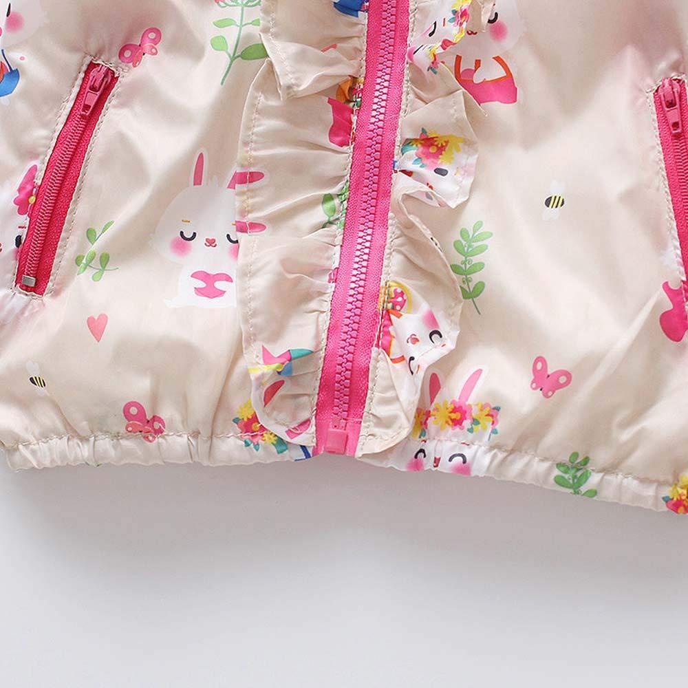 erthome Baby M/ädchen Mantel Baby Mit Kapuze Jacken Mantel Kinder Outwear Outfits