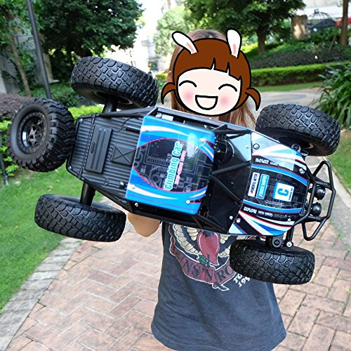 (LightInTheBox 18.8' Large Size RC Car/ 4WD Rock Crawlers 1:10 Scale MZ 2837 Rock Climbing Car Vehicle Monster Truck 4 Ch/2.4G Rock Climbing Car Brushless Electric Kids Suprise Gift )