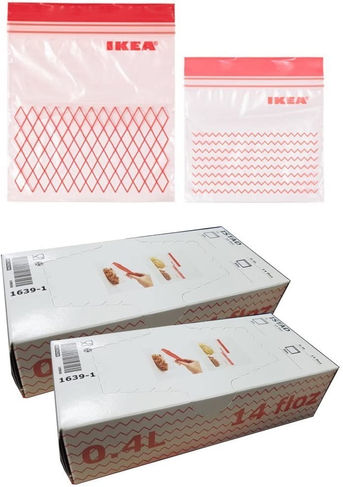 Ikea ISTAD - Bolsa de plástico para congelador, 120 Unidades ...