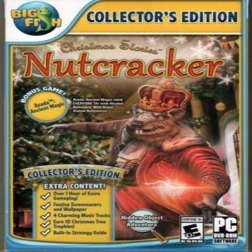 Christmas Stories NUTCRACKER COLLECTOR'S EDITION Hidden Object BONUS Game (Big Fish Best Games)
