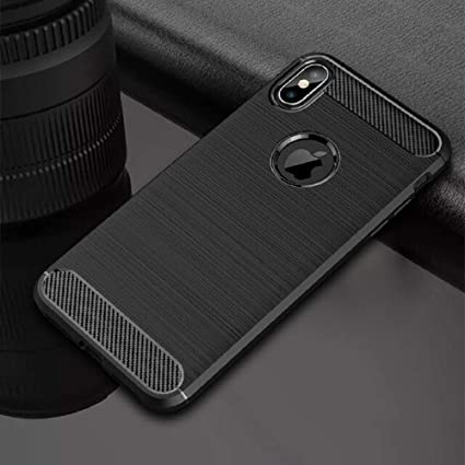 f0c9def4aa369 Amazon.com: 1 PC TPU Silicone Bumper Anti-Shock Soft Carbon Fiber ...