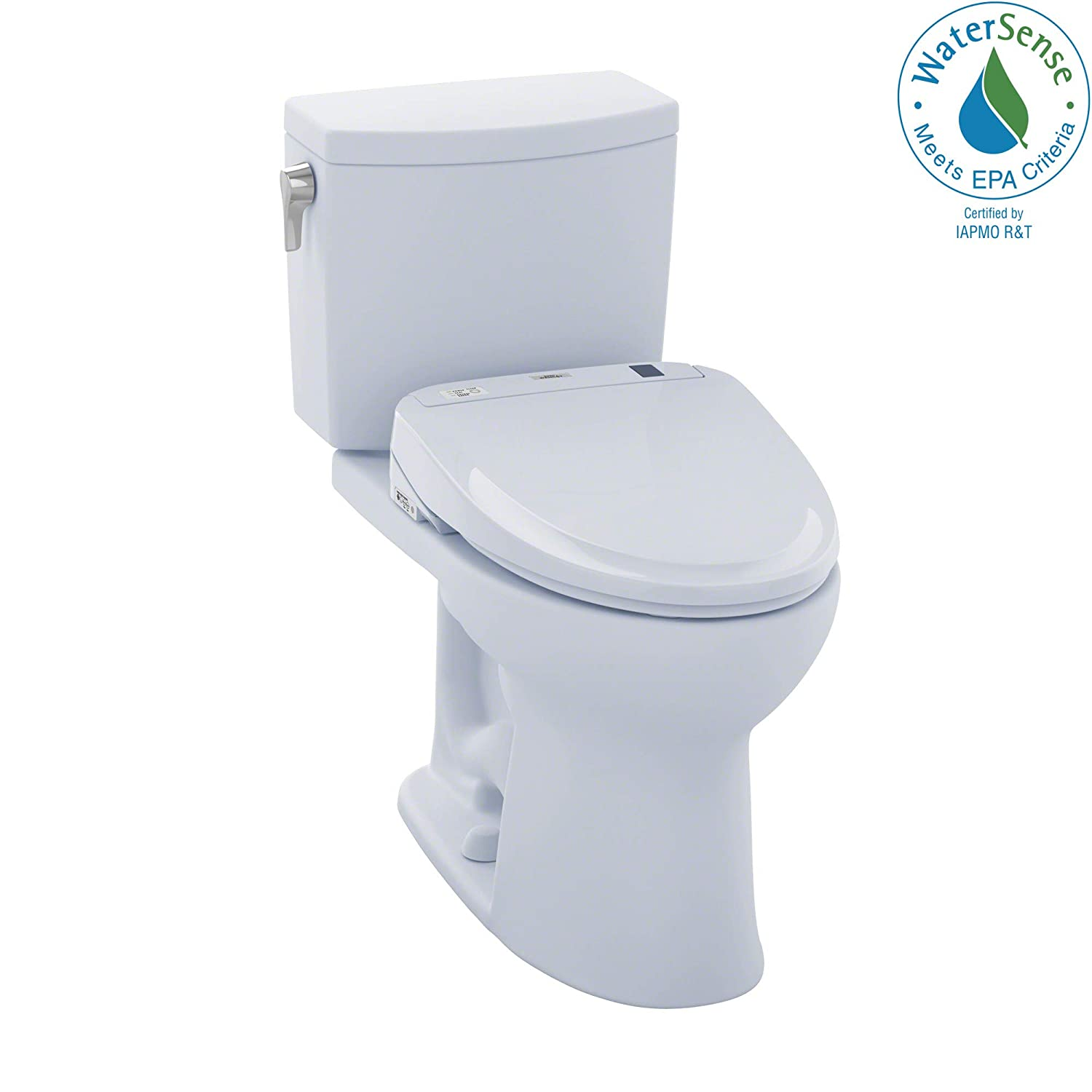TOTO MW454574CUFG#01 S300e WASHLET+ Kit, Drake II 1G Elongated 1.0 GPF