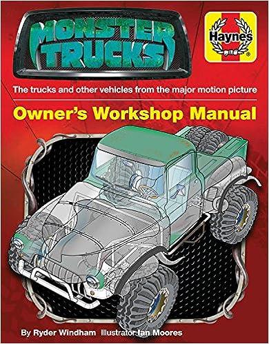 Book Monster Trucks Manual (Film Tie-in) (Monster Trucks Film) (Owners' Workshop Manual)