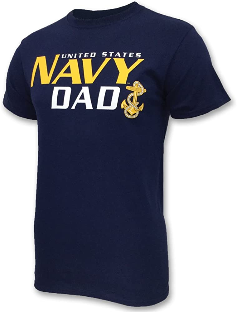 Military Parent Proud Navy Dad Navy Pride USN United States Navy Dad Shirt Military Family Gift for Military Dad Father\u2019s Day Gift
